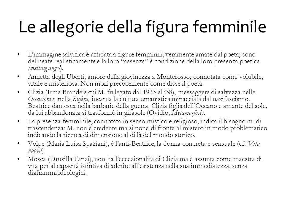 Le allegorie della figura femminile