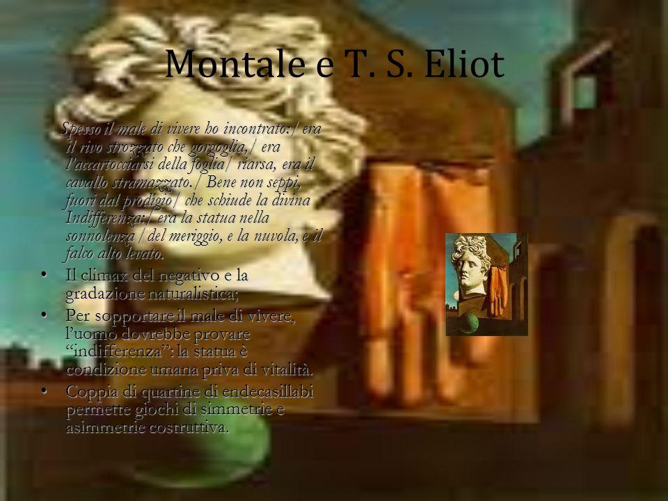Montale e T. S. Eliot