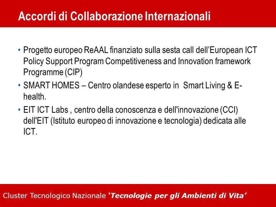 Accordi di Collaborazione Internazionali
