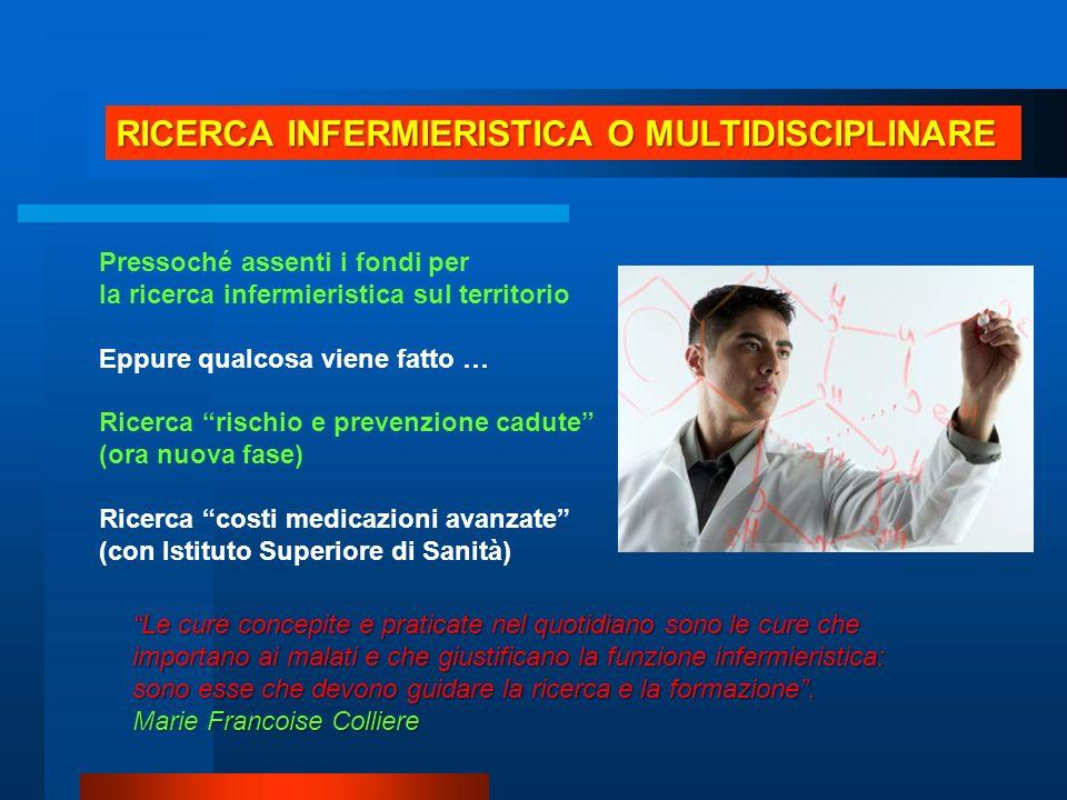 RICERCA INFERMIERISTICA O MULTIDISCIPLINARE
