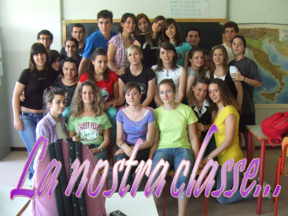 La nostra classe...