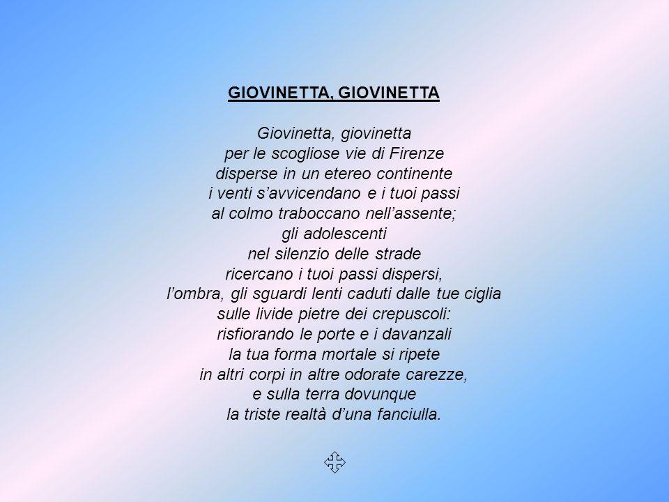 GIOVINETTA, GIOVINETTA