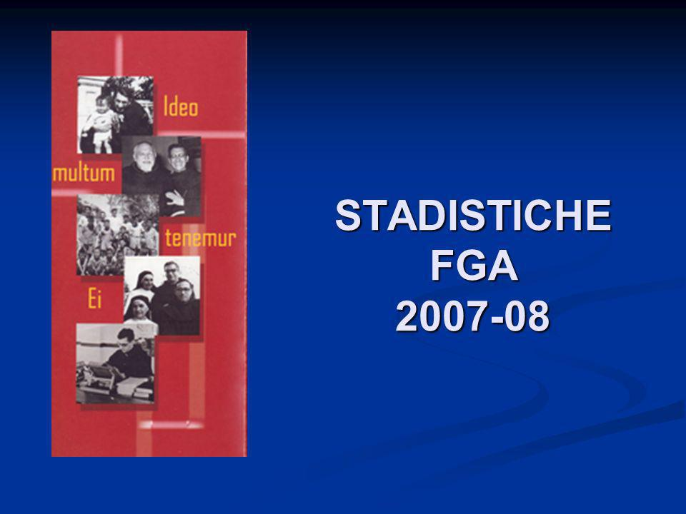 STADISTICHE FGA 2007-08