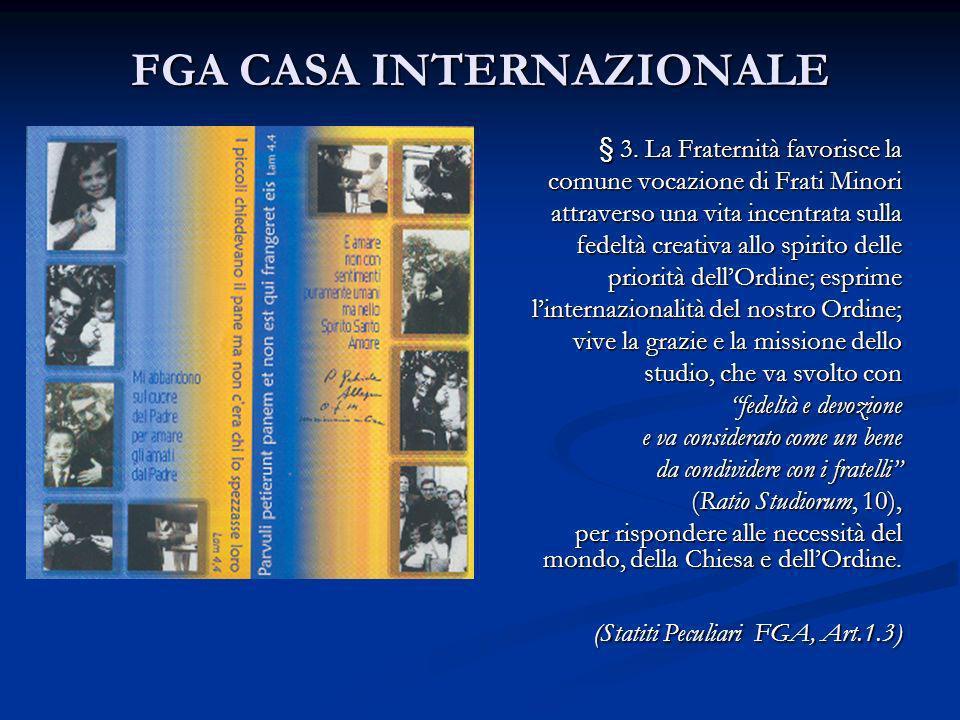FGA CASA INTERNAZIONALE