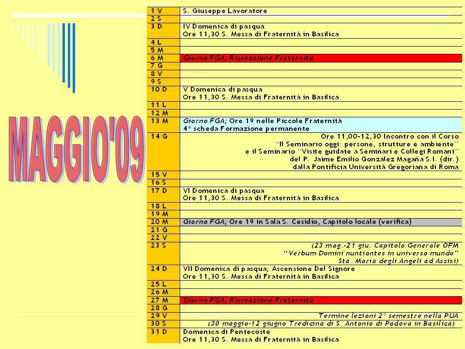 MAGGIO 09