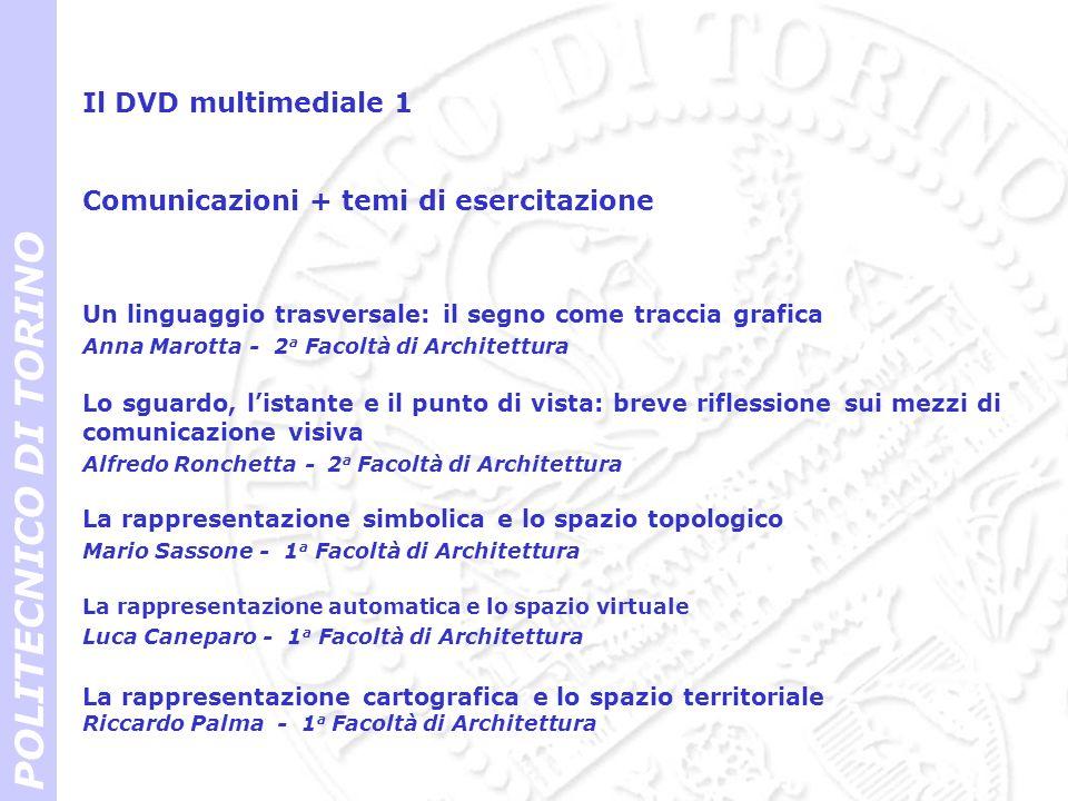 POLITECNICO DI TORINO Il DVD multimediale 1