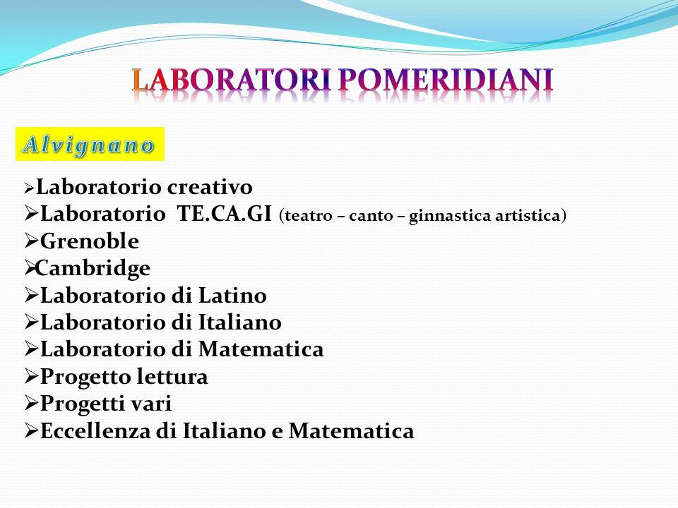 Laboratori pomeridiani