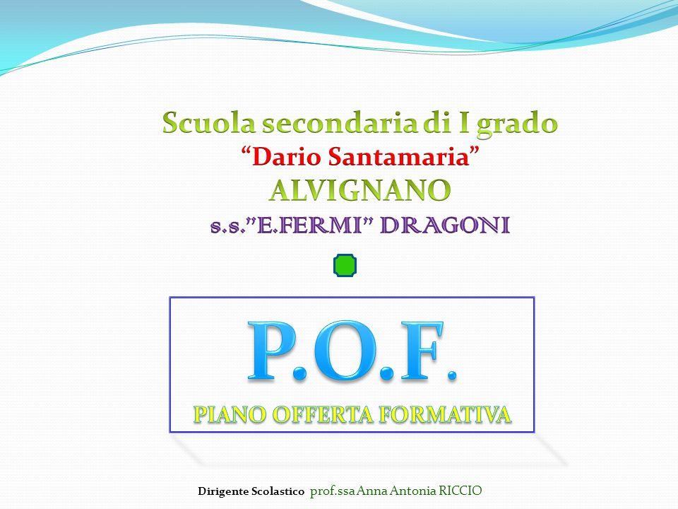 Scuola secondaria di I grado PIANO OFFERTA FORMATIVA