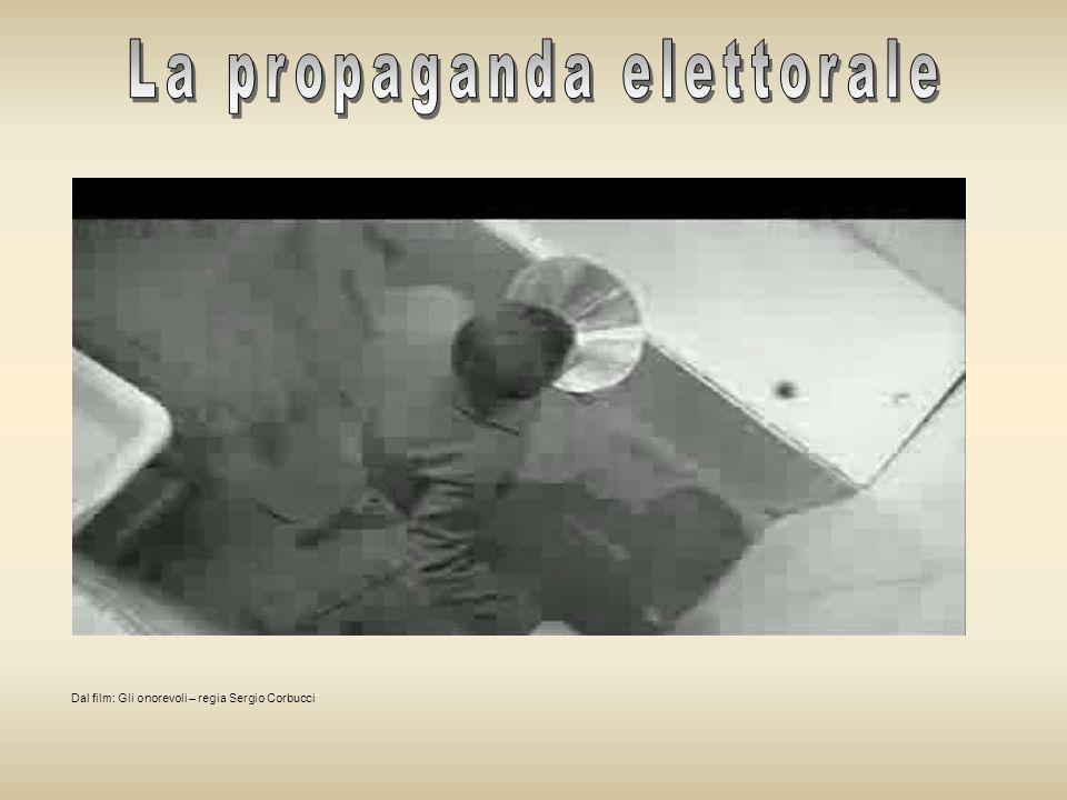 La propaganda elettorale