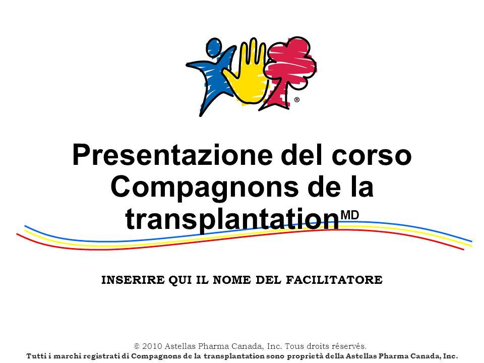 Presentazione del corso Compagnons de la transplantationMD