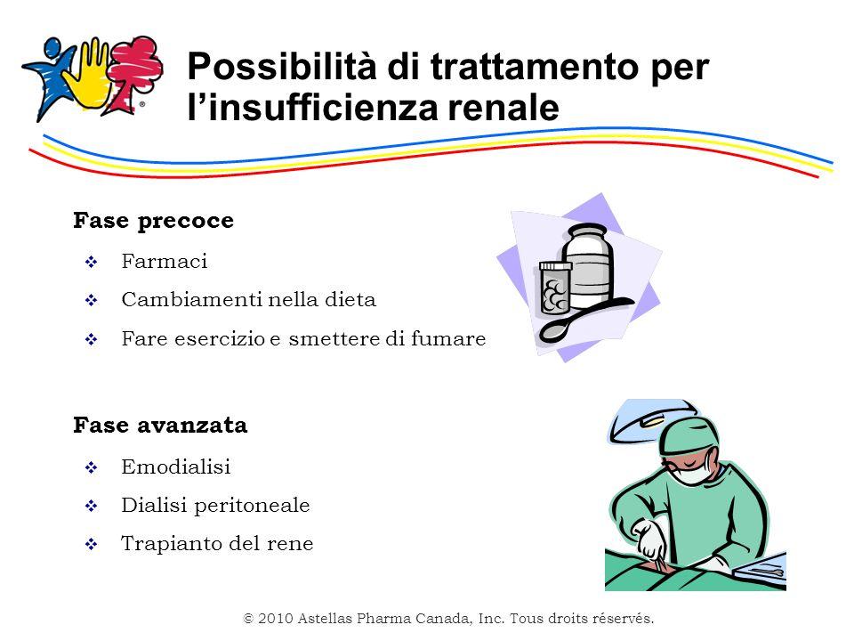 Possibilità di trattamento per l'insufficienza renale