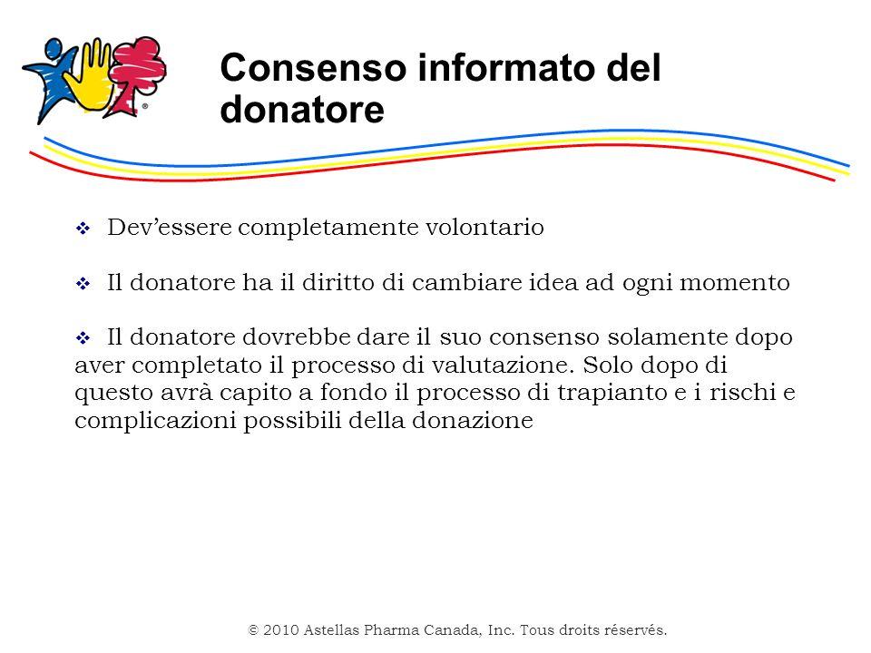 Consenso informato del donatore