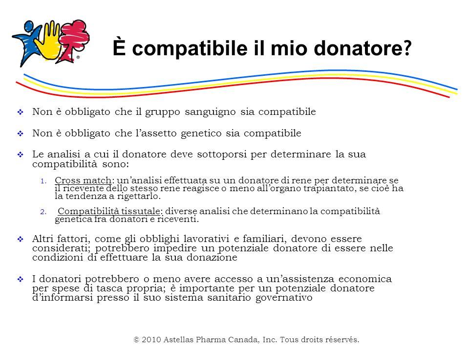 È compatibile il mio donatore
