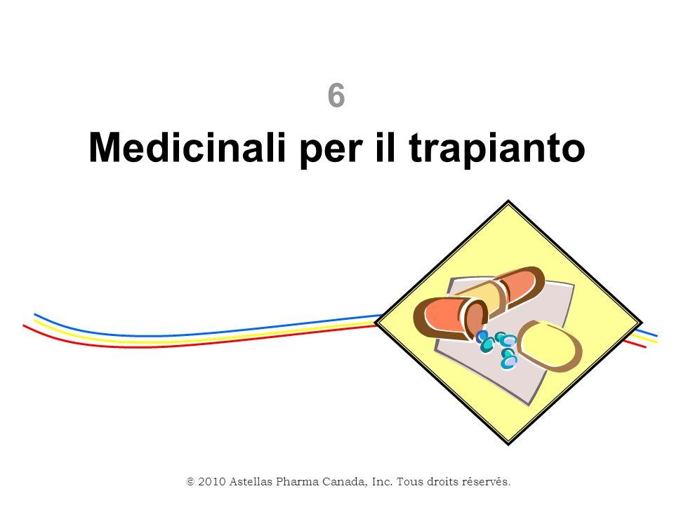 Medicinali per il trapianto