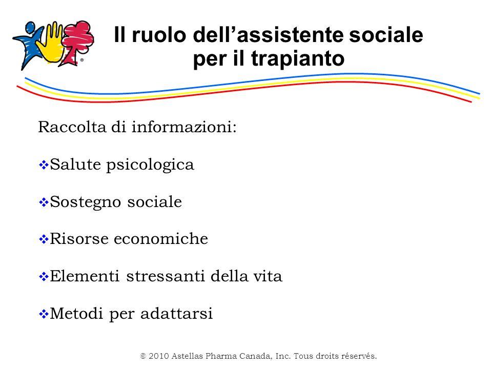 Il ruolo dell'assistente sociale per il trapianto