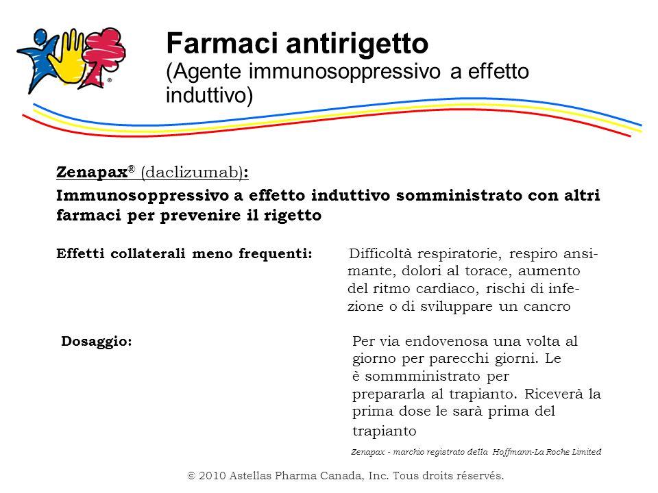 Farmaci antirigetto (Agente immunosoppressivo a effetto induttivo)