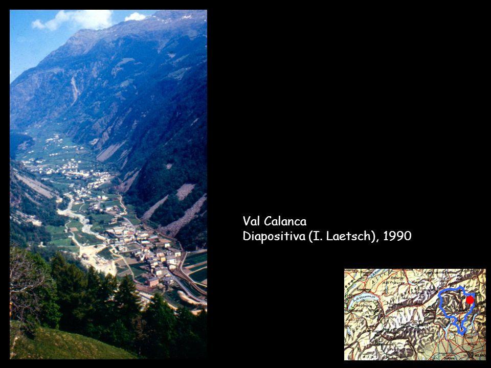 Val Calanca Diapositiva (I. Laetsch), 1990