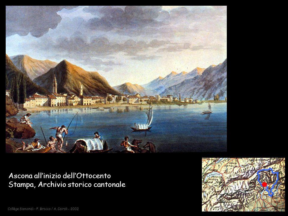Ascona all'inizio dell'Ottocento