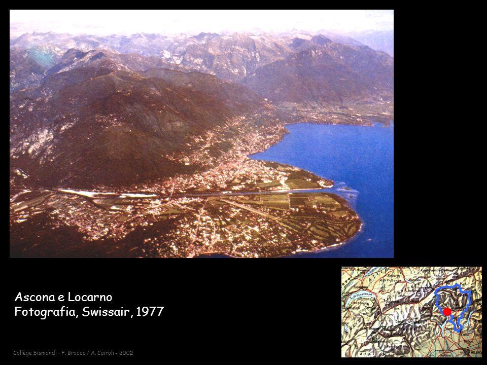Ascona e Locarno Fotografia, Swissair, 1977