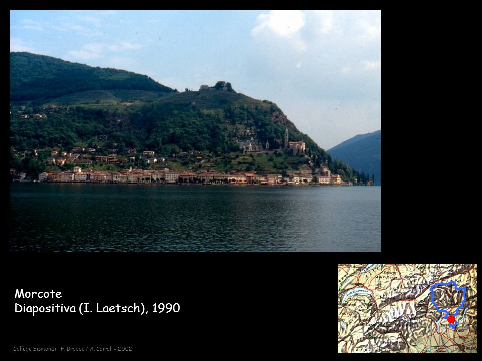 Morcote Diapositiva (I. Laetsch), 1990