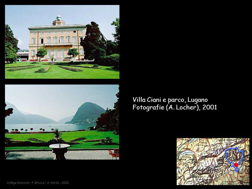 Villa Ciani e parco, Lugano Fotografie (A. Locher), 2001