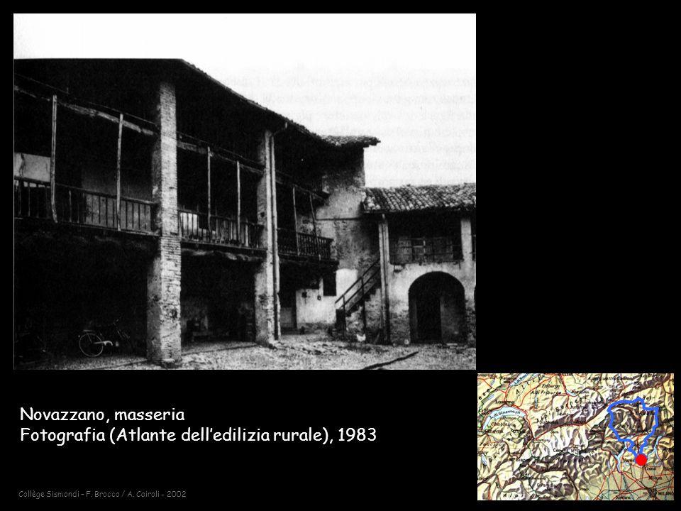 Novazzano, masseria Fotografia (Atlante dell'edilizia rurale), 1983