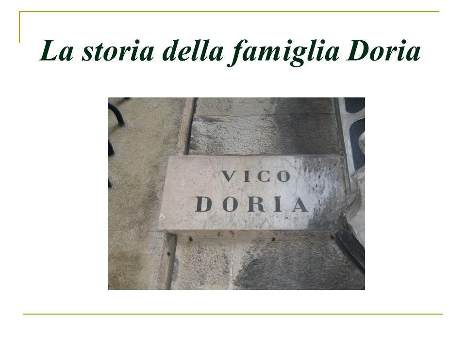 La storia della famiglia Doria