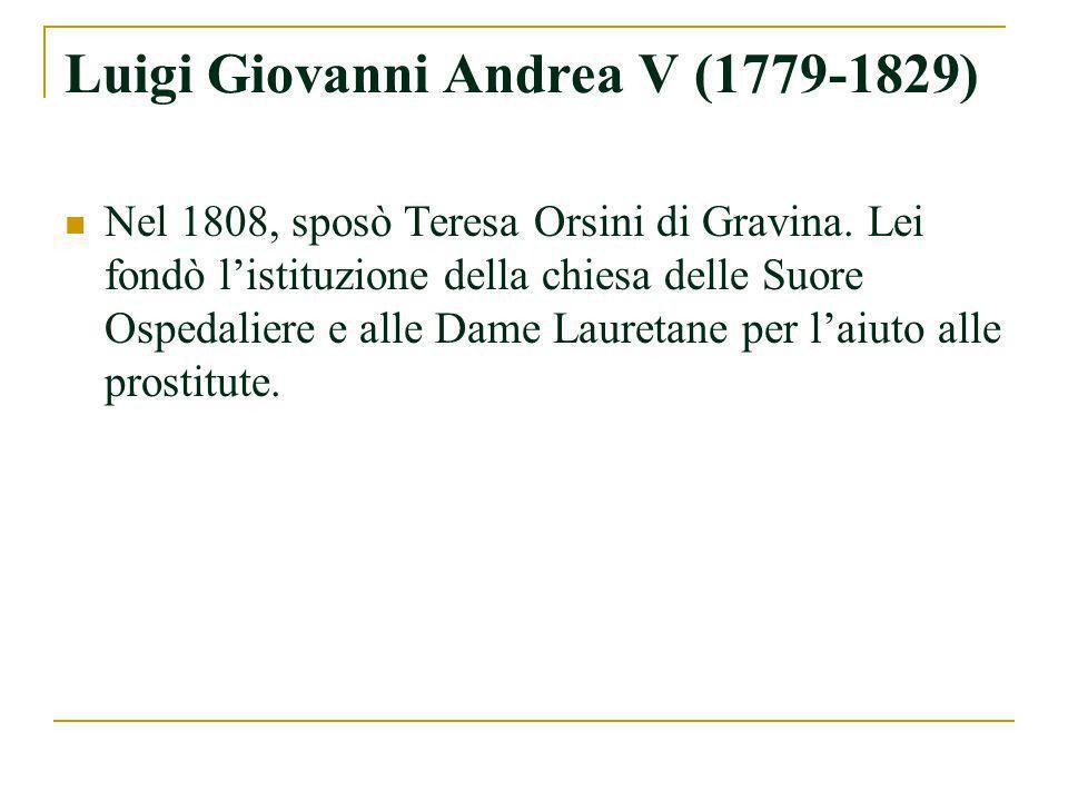 Luigi Giovanni Andrea V (1779-1829)