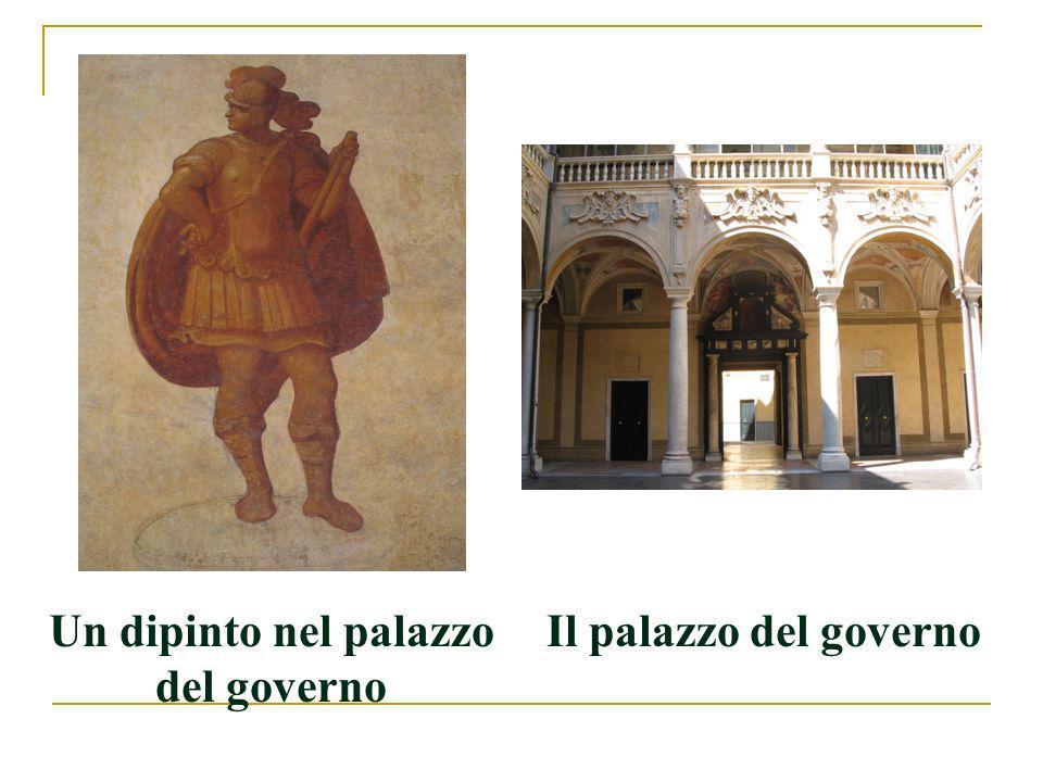 Un dipinto nel palazzo del governo