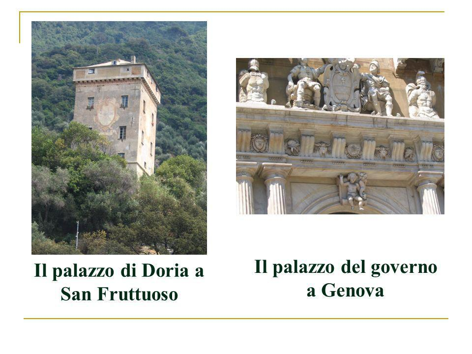 Il palazzo di Doria a San Fruttuoso