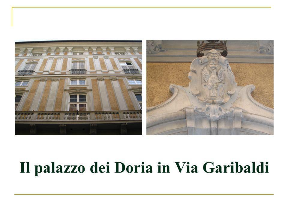 Il palazzo dei Doria in Via Garibaldi