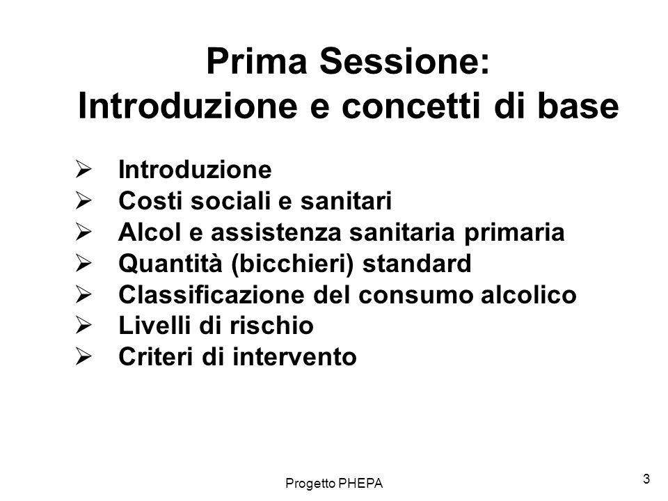 Prima Sessione: Introduzione e concetti di base