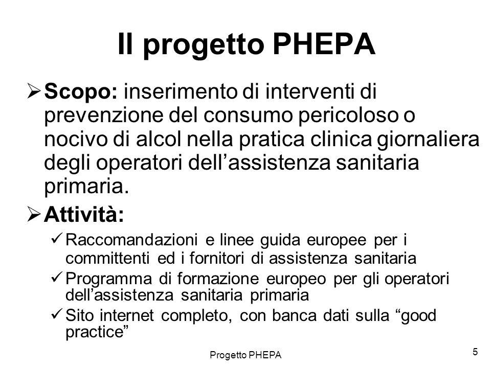 Il progetto PHEPA