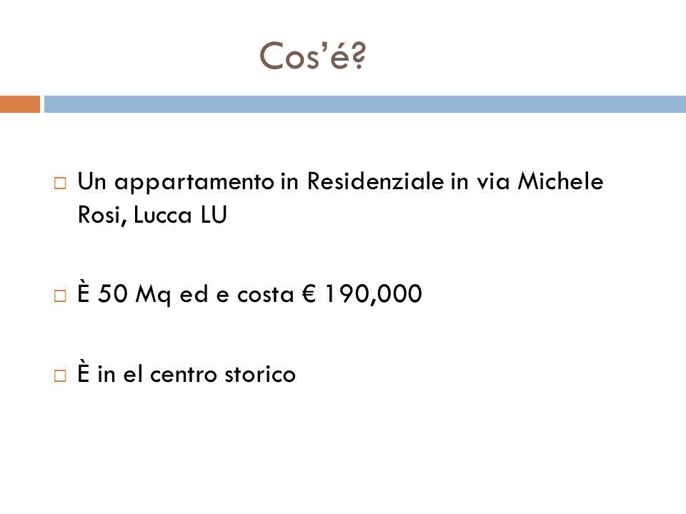 Cos'é Un appartamento in Residenziale in via Michele Rosi, Lucca LU