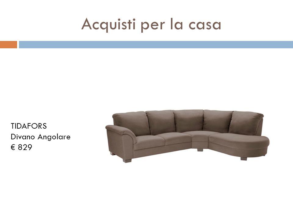 Acquisti per la casa TIDAFORS Divano Angolare € 829