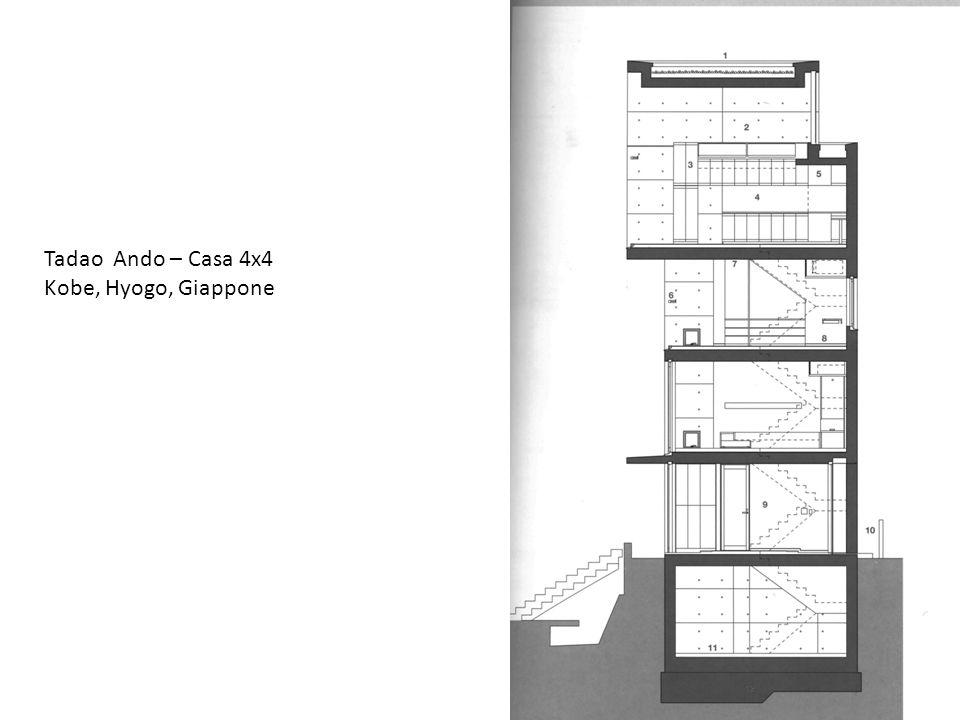 Tadao Ando – Casa 4x4 Kobe, Hyogo, Giappone