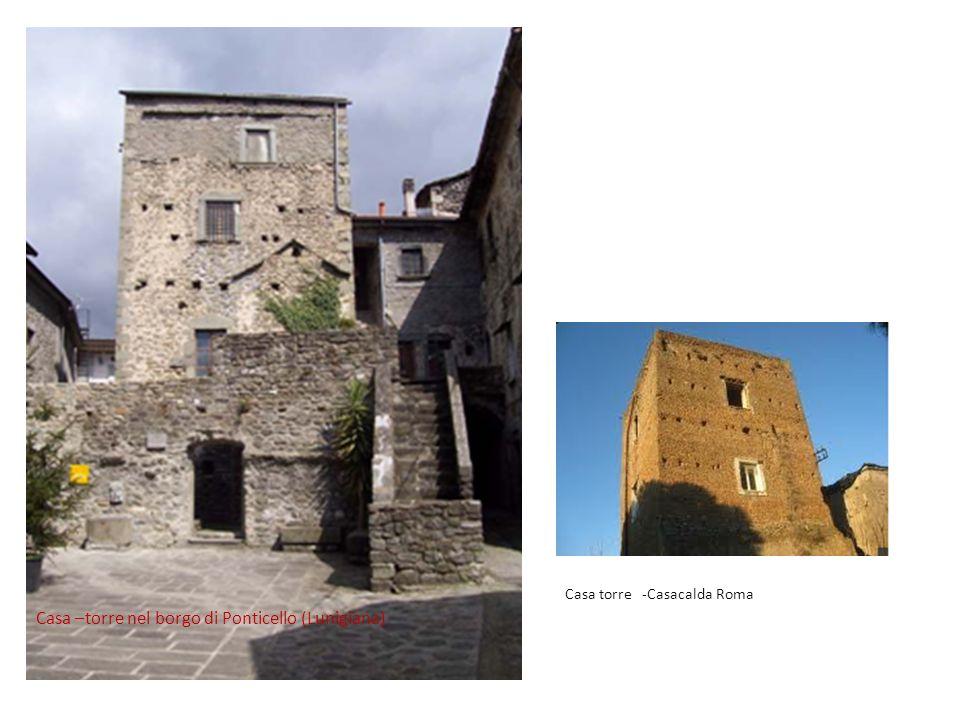 Casa –torre nel borgo di Ponticello (Lunigiana)