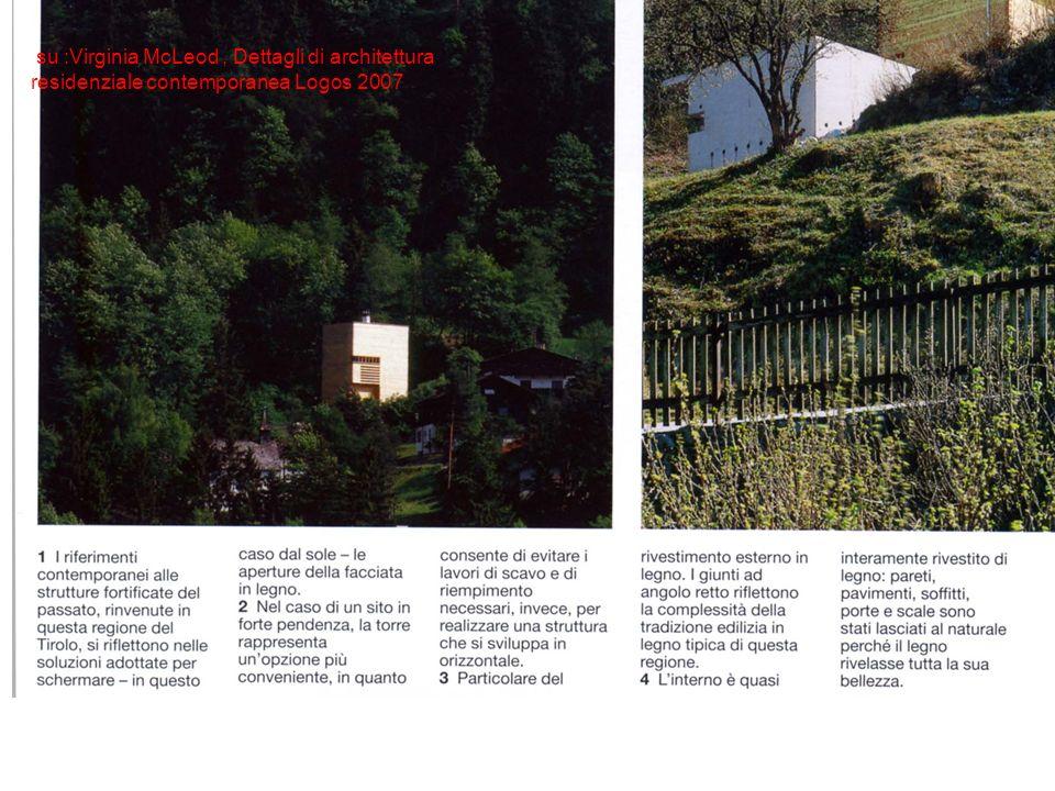 su :Virginia McLeod , Dettagli di architettura residenziale contemporanea Logos 2007