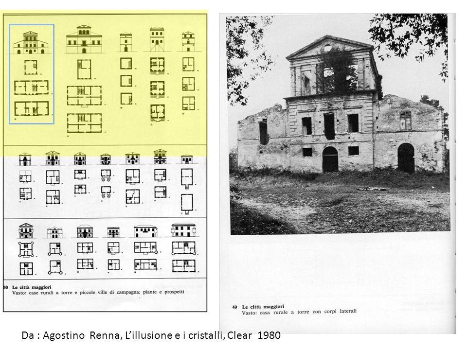 Da : Agostino Renna, L'illusione e i cristalli, Clear 1980