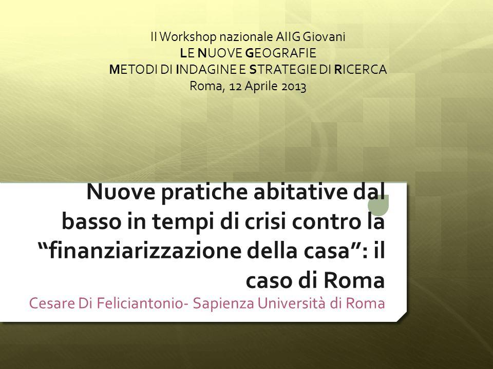 Cesare Di Feliciantonio- Sapienza Università di Roma