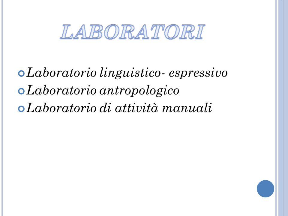 LABORATORI Laboratorio linguistico- espressivo