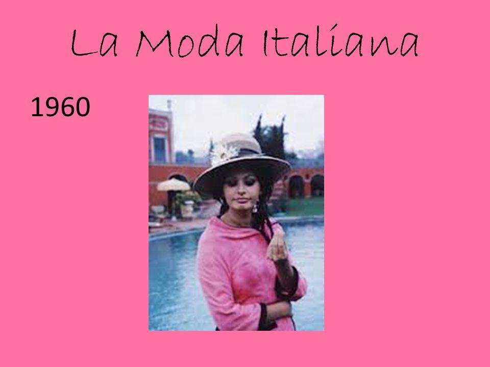 La Moda Italiana 1960