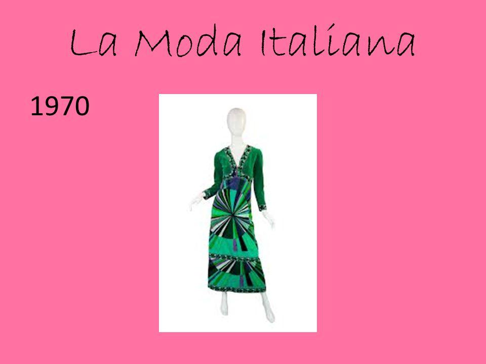 La Moda Italiana 1970