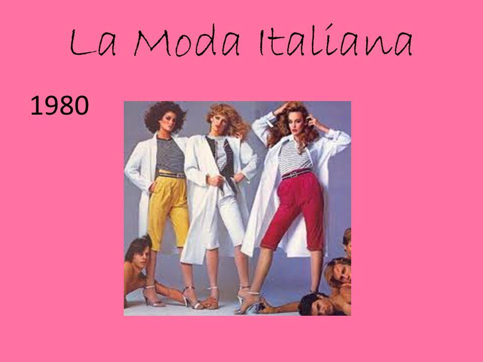 La Moda Italiana 1980
