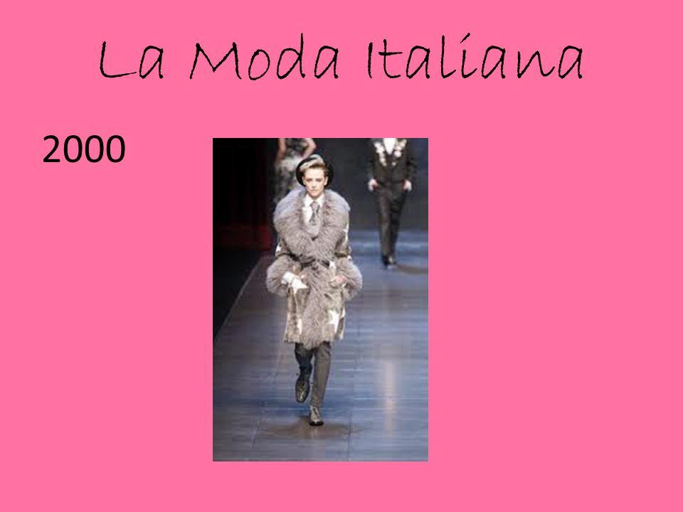 La Moda Italiana 2000