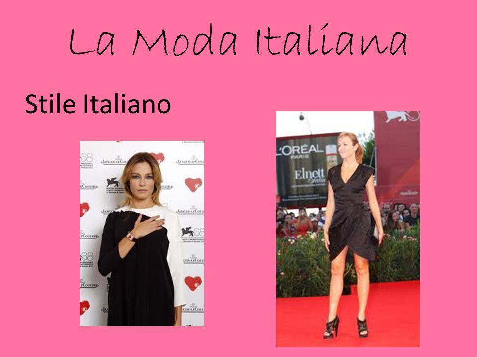 La Moda Italiana Stile Italiano