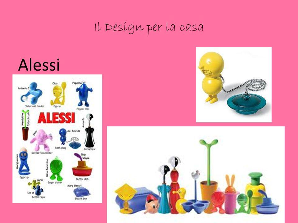 Il Design per la casa Alessi