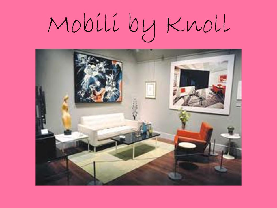 Mobili by Knoll