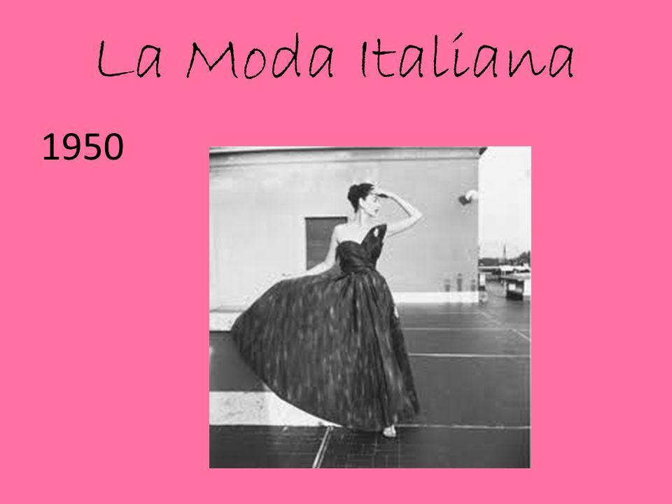 La Moda Italiana 1950