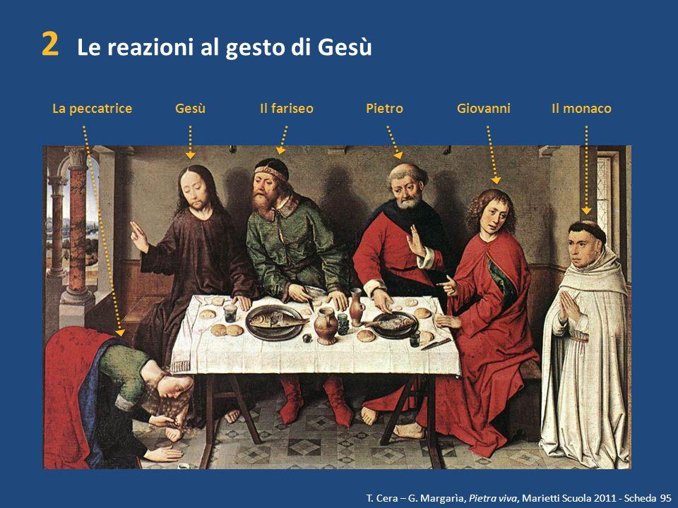 2 Le reazioni al gesto di Gesù